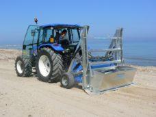 Уборщик песчаных пляжей
